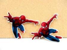 5 X 60MM Corte Láser Spiderman REVERSO PLANO RESINA DIADEMA arcos artesanías elaboración de tarjetas