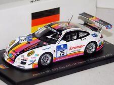 PORSCHE 997 GT3 KREMER RACING #75 NURBURGRING 2013 SPARK SG093 1/43