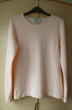 100% CASHMERE JUMPER IN PEACH FROM PURE COLLECTION - BELIEVED UNUSED - UK 12