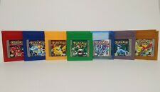 POKEMON RED / BLUE / YELLOW / GREEN / CRYSTAL / SILVER / GOLD [ENG] USA GAME BOY