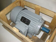 POWERTECH 1.5 HP 3600 RPM TEFC 230/460 VOLTS 145T 3 PHASE MOTOR NEW SURPLUS