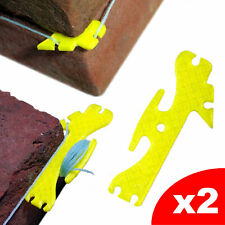 Brick String Line Twigs Tingles Corner Holder for Brick Laying, x 2 Pack