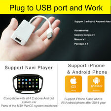 USB Carplay Dongle For Apple iPhone Android Car Radio Music Navigation Player