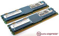 HP MICRON 16GB KIT 2X 8GB 2RX4 PC2-5300F 416474-001 667MHZ BUFFERED SERVER RAM