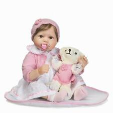 Toddler bebe Reborn silicone Baby girl Doll vinyl likelife newborn gifts 22'' US