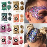 10g/bag Chunky Glitter Flake Body Mixed Holographic Tattoo Art Nail Cosmetic