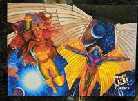 1994 Fleer Ultra Marvel X-Men - Limited Edition SubSet - 4 of 9 Rogue Archangel