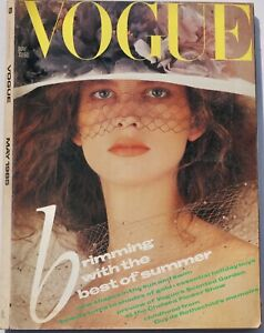 1985 May VOGUE 80s vintage fashion & beauty magazine Patricia Underwood Barbie