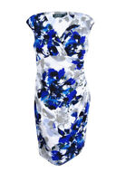 Lauren Ralph Lauren Women's Petite Floral Jersey Sheath Dress