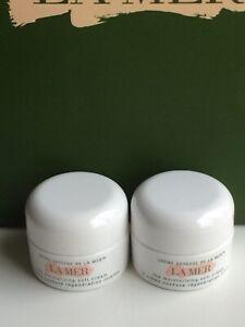 2x La Mer The Moisturizing Soft Cream Sample Size