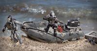 COD Call Of Duty RIB BEACH ASSAULT Gommone KIT Mega Bloks Costruzioni Ghosts