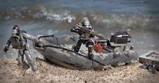COD Call Of Duty RIB BEACH ASSAULT Rubber dinghy KIT Mega Bloks Buildings Ghosts