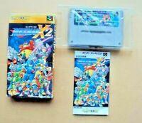 ROCKMAN X2  MEGAMAN Super Famicom SNES Japan