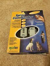 New NIB Spray Commander Remote Dog Training Safe/Gentle Citronella Bark Collar