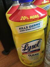 Clean & Fresh Multi-Surface Cleaner Sparkling Lemon & Sunflower Scent 48 oz