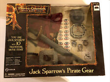 Captain Jack Sparrow Pirates of the Caribbean Gear