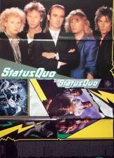 STATUS QUO - 1987 - Plakat / Programm - DDR - 750 Jahre Berlin - Poster