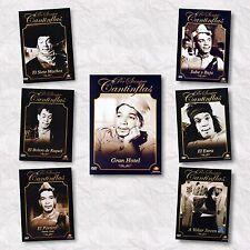 7DVDPACK-Por Siempre Cantinflas-7 Machos,Bolero deRaquel,El Portero,El Extra-NEW
