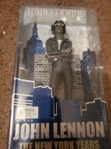 NECA JOHN LENNON THE NEW YORK YEARS BLACK&WHITE NOT SOLD IN STORES BRAND NEW FS!