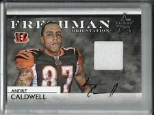 Andre Caldwell 2008 Rookies & Stars Autograph Game Used Jersey #11/25