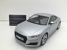 "Minichamps 1:18 DEALER EDITION AUDI TT COUPE ""FOIL SILVER"" 5011400415 VERY RARE!"