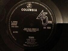 KEN DODD . TEARS . 1965 CLASSIC FROM THE LIVERPOOL COMEDIAN. U.K. No.1 HIT