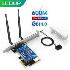 EDUP EP-9619 600Mbps PCI-E 5G WiFi Card Bluetooth Adapter