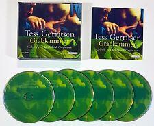 6 CD Tess Gerritsen - Grabkammer Leído de Mechthild Grossmann Alemana Emb.orig