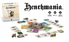 HENCHMANIA Board Game KICKSTARTER EXCLUSIVE Deluxe Edition Jocus SG Sealed
