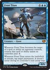 FROST TITAN Commander 2014 MTG Blue Creature — Giant Mythic Rare