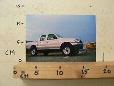 AF171-PHOTO FACTORY ? MAZDA ? PICK-UP PICKUP CAR AUTO B SERIES