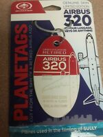 "Airbus A320 Combo (from the movie ""Sully"") Plane Tag / Planetags - Free Shipping"