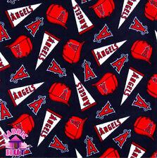 Anaheim LA Angels MLB Fleece Fabric 6523 D