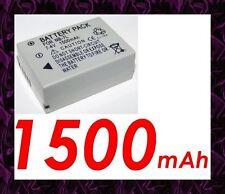 ★ 1500 mAh Batterie Compatible CANON NB7L/NB-7L Pour Digital IXUS 120 IS /120IS