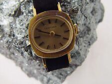 Certina 18K Yellow Gold Ladies Wrist Watch, Vintage Art Deco