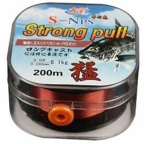 Fishing Line 200M Fluorocarbon Coating Wear Resistant Stretchable Sinking Gear