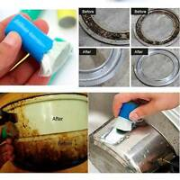 1-10PCS Stainless Steel Rust Remover Cleaning Wash Brush Kitchen Tools Gadget