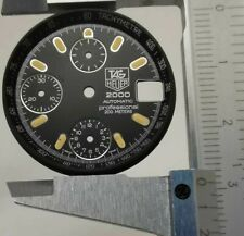 Tag Heuer 2000 Automatic Professional 200M Chronograph Tachymeter Black Dial