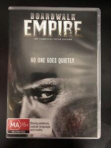 BOARDWALK EMPIRE DVD The Complete Fifth Season DRAMA TV Series Region 4