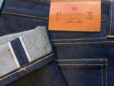 NWOT Unworn Shockoe Atelier Denim Selvedge Jeans 38 x Unhemmed