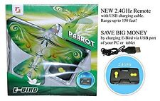 Ebird RC IR Flying Bird Parrot Ages 8+ Toy Remote Remote Control Plane Drone