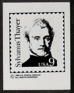 Photo Essay, USA Sc1852 Great American, Sylvanus Thayer.