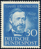 BUND 1952, MiNr. 161, tadellos postfrisch, gepr. Schlegel, Mi. 55,-