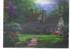 house garden 5D Lenticular  Holographic Stereoscopic Picture Wall Art