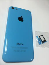 ORIGINAL iPHONE 5C BACK REAR COVER GLASS DOOR HOUSING REPLACEMENT Blue A1532
