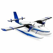 E-Flite Twin Otter 1.2m Bnf Bind And Fly Basic As3X Floats R/C Airplane Efl30050