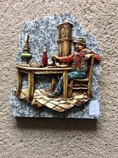 Décoration papy à table sur plaque de marbre Vintage (2)