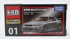 TAKARA TOMY  Tomica PREMIUM 01 NISMO R34 GT-R Z-tune 1/62 From Japan  F/Shipping
