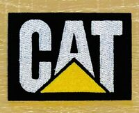 CAT CATERPILLAR Logo Patch Iron / Sew On Heavy Equipment For Shirts Hats Badge