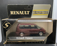 Solido Renault Espace  1:43 cased mounted and boxed Maroon